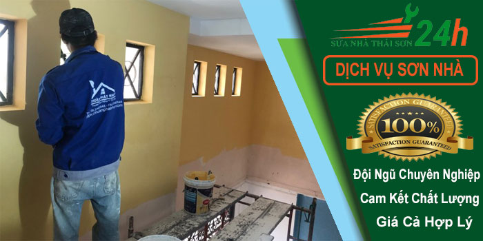 Báo giá dịch vụ sơn nhà trọn gói giá rẻ nhất tphcm