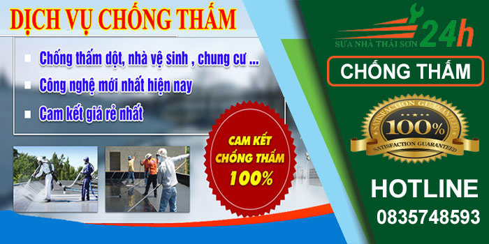 Dịch vụ chống thấm dọt nhà ở TPHCM