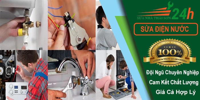 Dịch vụ sửa chữa điện nước tại nhà tphcm