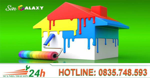 Báo giá dịch vụ sơn nhà giá rẻ quận 2