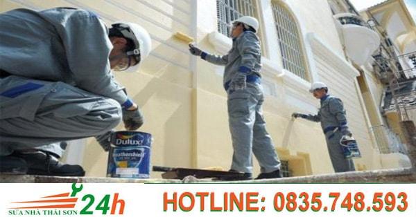 Báo giá dịch vụ sơn nhà quận Tân Bình