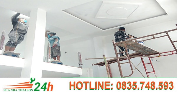 Báo giá dịch vụ sơn nhà quận Tân Phú