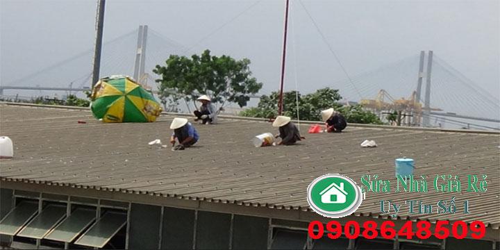 Chống dột mái tôn mái ngói tại Tp.HCM, Bình Dương, Đồng Nai