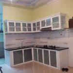 Chuyên nhận làm tủ bếp nhôm kính