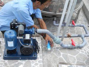 Sửa chữa máy bơm nước ở tại nhà quận 11