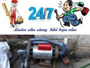 Sửa chữa máy bơm nước ở tại nhà quận 7