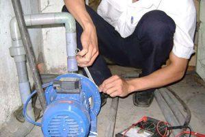 Sửa chữa máy bơm nước tại nhà quận tân bình