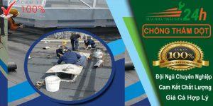 Công Ty chuyên nhận chống thấm tại quận gò vấp giá rẻ