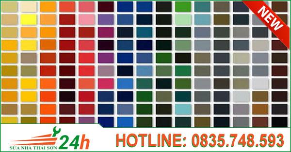 1000 màu sơn nhà đẹp nhất