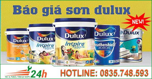 Bảng báo giá sơn dulux mới nhất