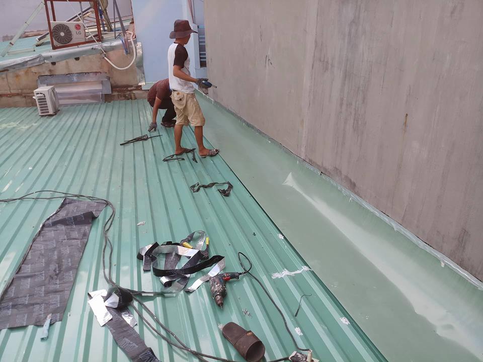 Sửa chữa mái tôn tại TPHCM - BÌNH DƯƠNG - ĐỒNG NAI