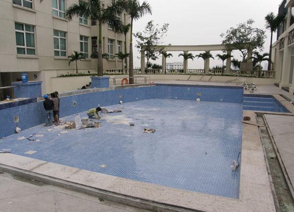 Báo giá chống thấm ngược - Chống thấm hồ bơi