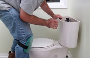 Sửa chữa van cấp nước bồn cầu