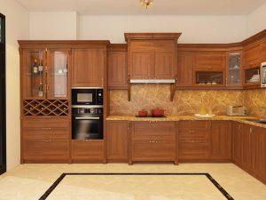 Báo giá làm tủ bếp gỗ