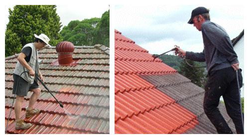 Báo giá thi công sơn mái ngói