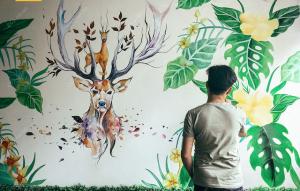 Vẽ tranh tường - Tư vấn vẽ tranh tường