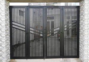 Thi công làm cửa cổng sắt