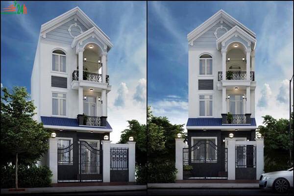 Nhà phố 3 tầng thiết kế tinh tế