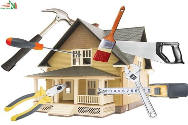 Bảng dự toán kinh phí sửa chữa nhà
