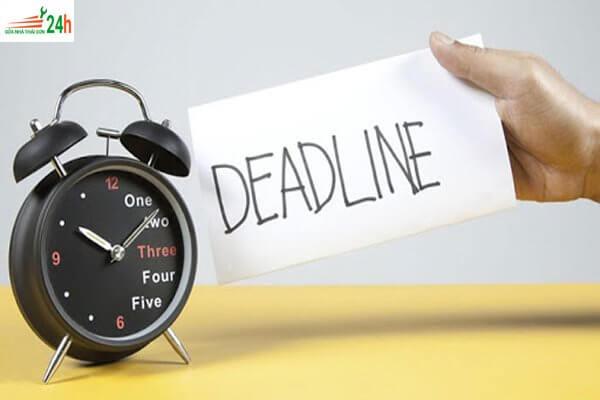 Deadline là gì? Deadline sử dụng trong những trường hợp nào?