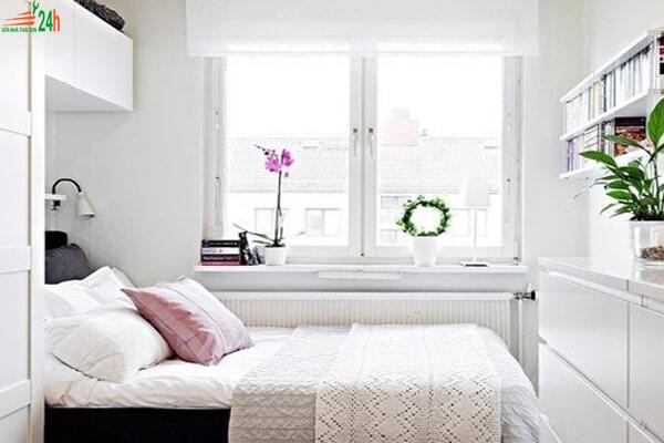 Phòng ngủ nhỏ với diện tích 5m2