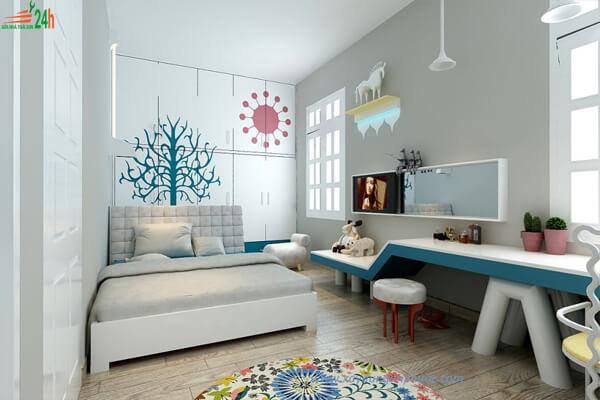 Phòng ngủ hiện đại 9m2