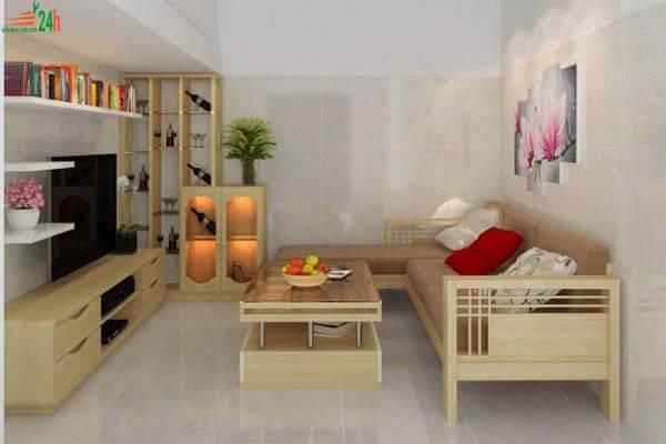 Bố trí nội thất phòng khách nhỏ sao cho tiết kiệm không gian
