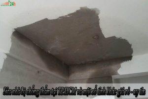 Sửa nhà bị chống thấm tại TP.HCM và một số tỉnh khác giá rẻ - uy tín